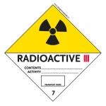 7 Radioactive Material Category III-Yellow