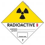 7 Radioactive Material Category II-Yellow