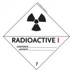 7 Radioactive Material Category I-White