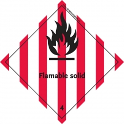 4.1 Flammable Solid