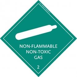 2.2 Non-flammable, non-toxic Gas