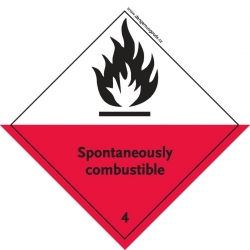 4.2 Spontaneously Combustible